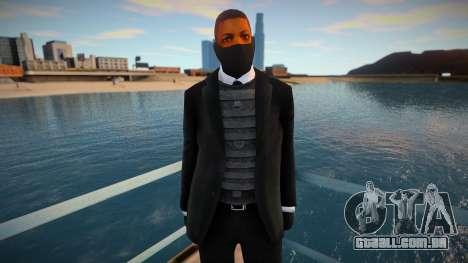 Novo segurança com uma máscara para GTA San Andreas