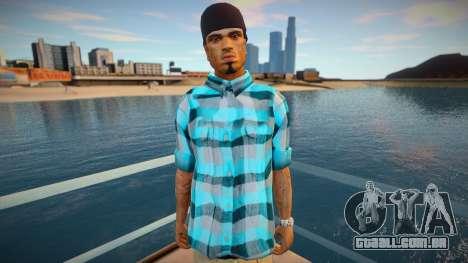 Cesar shirt style para GTA San Andreas