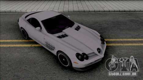 Mercedes-Benz SLR McLaren [Fixed] para GTA San Andreas