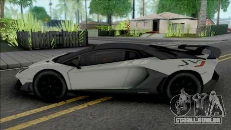 Lamborghini Aventador SVJ 2019 [HQ] para GTA San Andreas