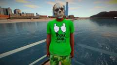 Nigga skull mask from GTA Online para GTA San Andreas