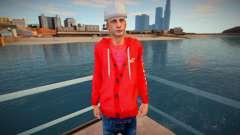 O cara de capuz vermelho para GTA San Andreas