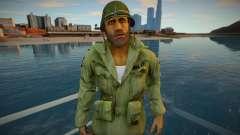 Lincoln Clay from Mafia 3 [coat-helmet] para GTA San Andreas