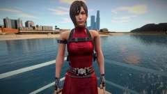 Ada Wong red short dress para GTA San Andreas