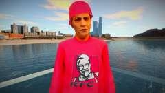 O cara de jaqueta vermelha para GTA San Andreas