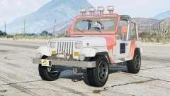 Jeep Wrangler Jurassic Park (YJ) 1993〡add-on para GTA 5