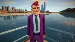 Cara com uma máscara divertida do GTA Online para GTA San Andreas