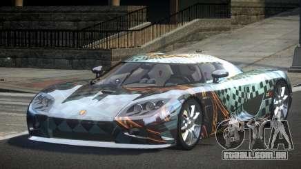 Koenigsegg CCX GST-R S6 para GTA 4