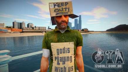 Mendigo sem-teto para GTA San Andreas