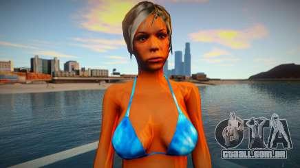 Garota de biquíni para GTA San Andreas