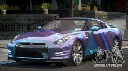 Nissan GT-R U-Style L4 para GTA 4