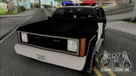 Police Ranger SAHP para GTA San Andreas