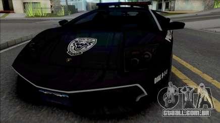 Lamborghini Murcielago LP670-4 SV Police [Fixed] para GTA San Andreas