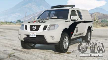 Nissan Frontier Crew Cab (D40) 2012〡PMERJ para GTA 5