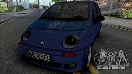 Daewoo Matiz (Romanian Plate) para GTA San Andreas