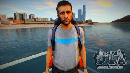 Turista de pele para GTA San Andreas
