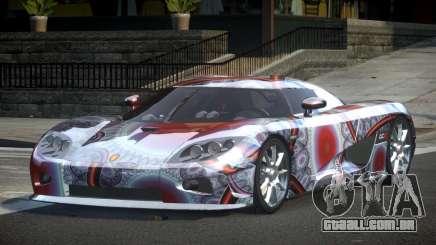 Koenigsegg CCX GST-R S4 para GTA 4
