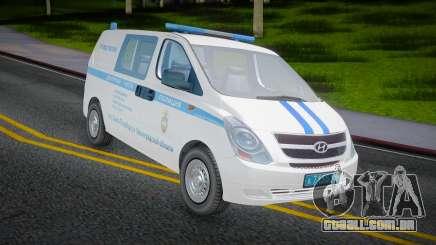 Hyundai H-1 Starex Polícia do Ministério do Interior russo para GTA San Andreas