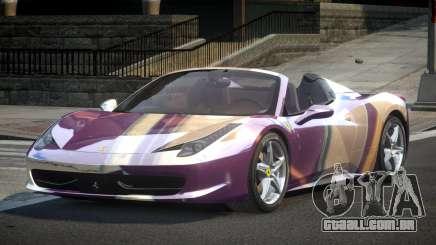 Ferrari 458 BS-S S10 para GTA 4