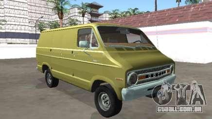 Dodge Tradesman 200 1972 Van para GTA San Andreas