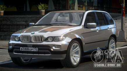 BMW X5 V.1.1 para GTA 4