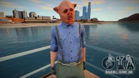 Pig mask ped para GTA San Andreas
