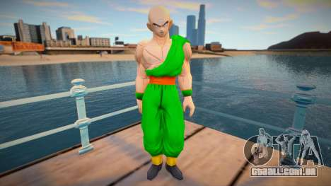 Tenshinhan Dragon Ball Budokai Tenkaichi 3 para GTA San Andreas
