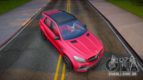 Mercedes-Benz GLE 63 TopCar para GTA San Andreas