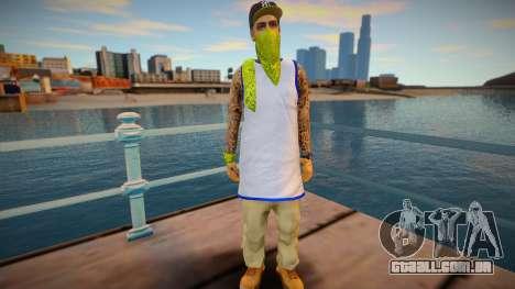 Gangsta latinos v2 para GTA San Andreas