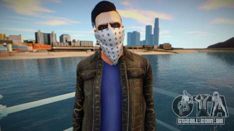 Light facial handkerchief ped para GTA San Andreas