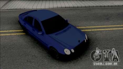 Mercedes-Benz E280 W211 Simple para GTA San Andreas