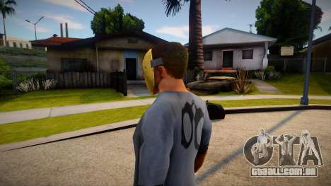 Expendable Asset Mask For CJ para GTA San Andreas