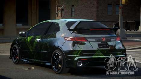Honda Civic SP Type-R S6 para GTA 4