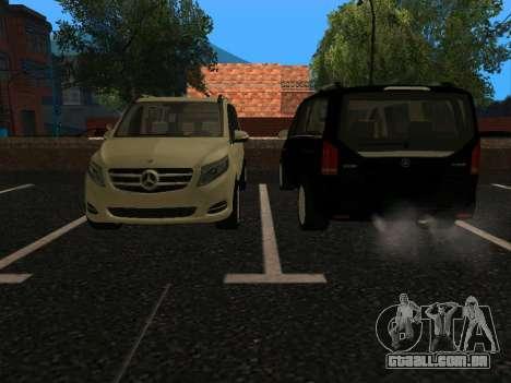 Mercedes-Benz Bluetec V250 para GTA San Andreas