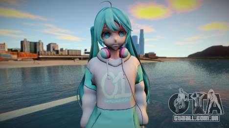 Music Cafe Miku Hatsune para GTA San Andreas