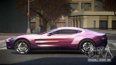 Aston Martin BS One-77 S1 para GTA 4