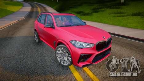 BMW X5M Competition 2020 para GTA San Andreas