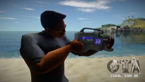 Video Camera para GTA San Andreas
