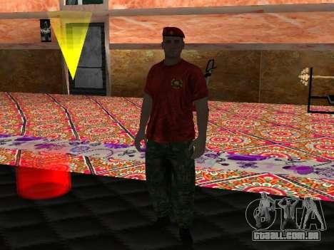 Instrutor Krapovik para GTA San Andreas