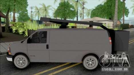 GMC Savana 2500 Utilty Van para GTA San Andreas
