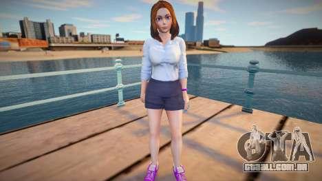 Sam Samsung Casual (Miniskirt) para GTA San Andreas
