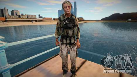 Cliff [Mads Mikkelsen] (from Death Stranding) para GTA San Andreas
