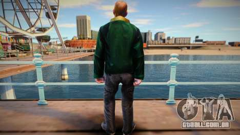 Bandido russo furioso para GTA San Andreas