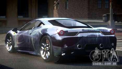 Ferrari 458 SP U-Style S8 para GTA 4