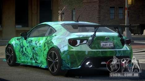 Subaru BRZ SP-U S8 para GTA 4