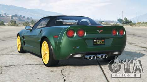 Chevrolet Corvette ZR1 (C6) V3.0 (Flex) 200〡9