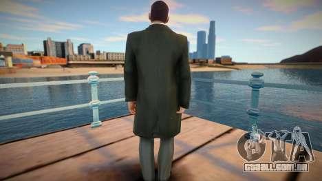 Americano em Coat 3 para GTA San Andreas