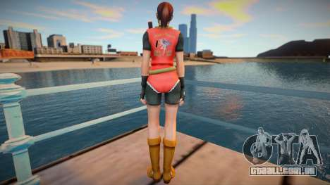 Claire Redfield (good skin) para GTA San Andreas
