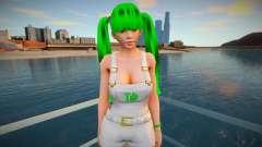 Lei Fang as a Grove Street Member para GTA San Andreas