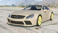 Mercedes-Benz SL 65 AMG Black Series (R230) 2008〡add-on v1.2 para GTA 5